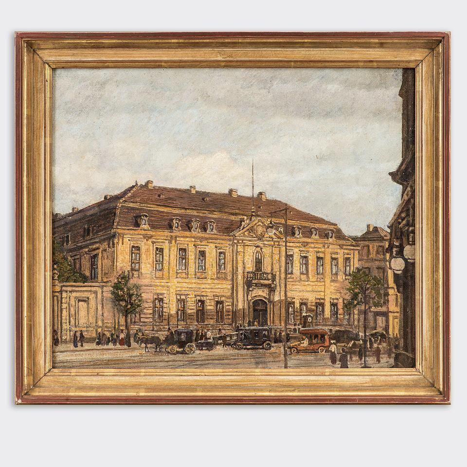 Das Kammergericht, ehemaliges Berlin Museum
