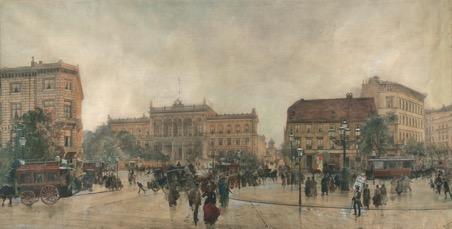 Der Potsdamer Bahnhof im Großformat