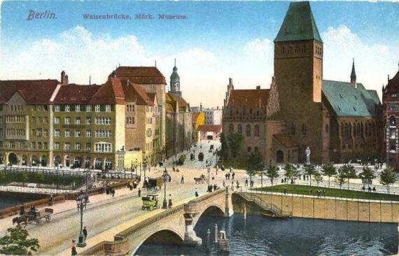 Brückentag NEUE WAISENBRÜCKE  Einladung zum gemeinsamen Spaziergang am 14. Mai 2021
